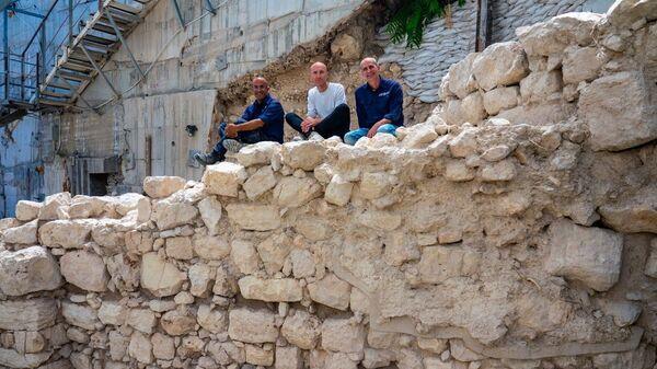 Потерянный участок стен Иерусалима, построенных во времена Первого Храма - Sputnik Polska