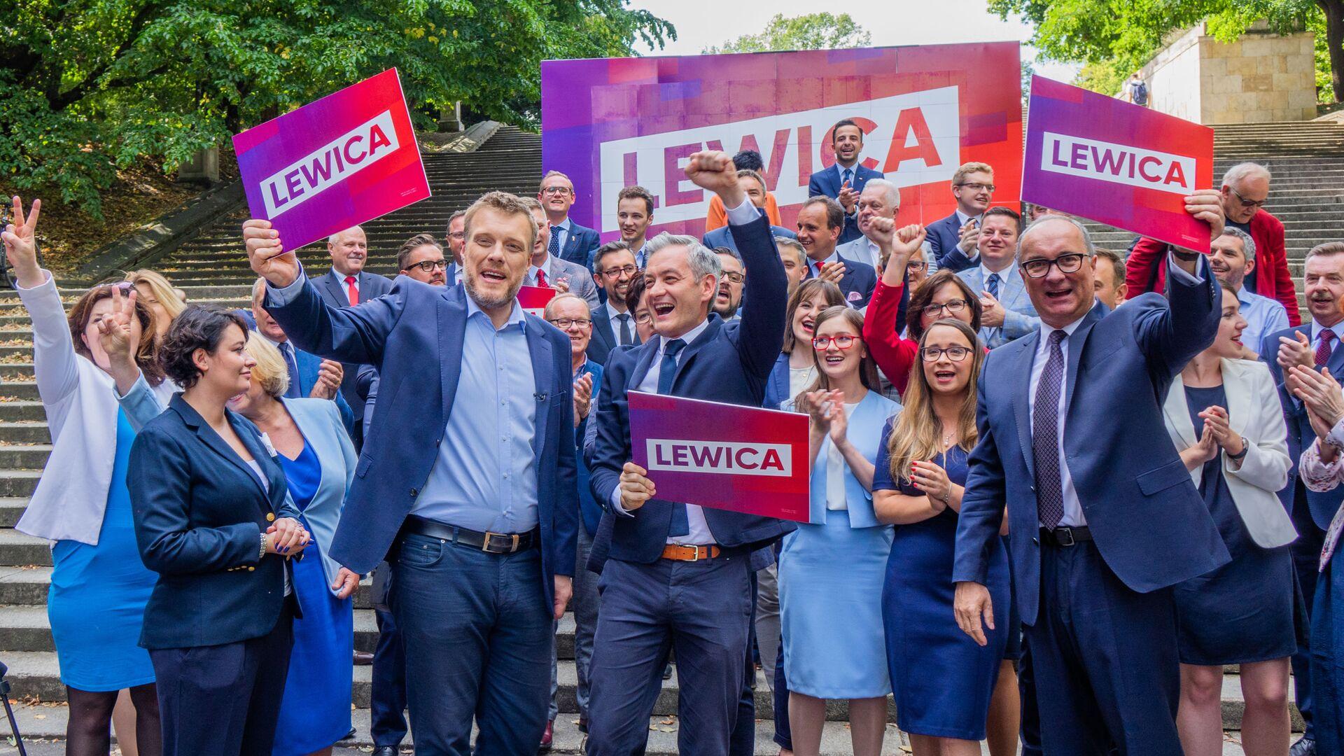 Lewica - Sputnik Polska, 1920, 17.07.2021
