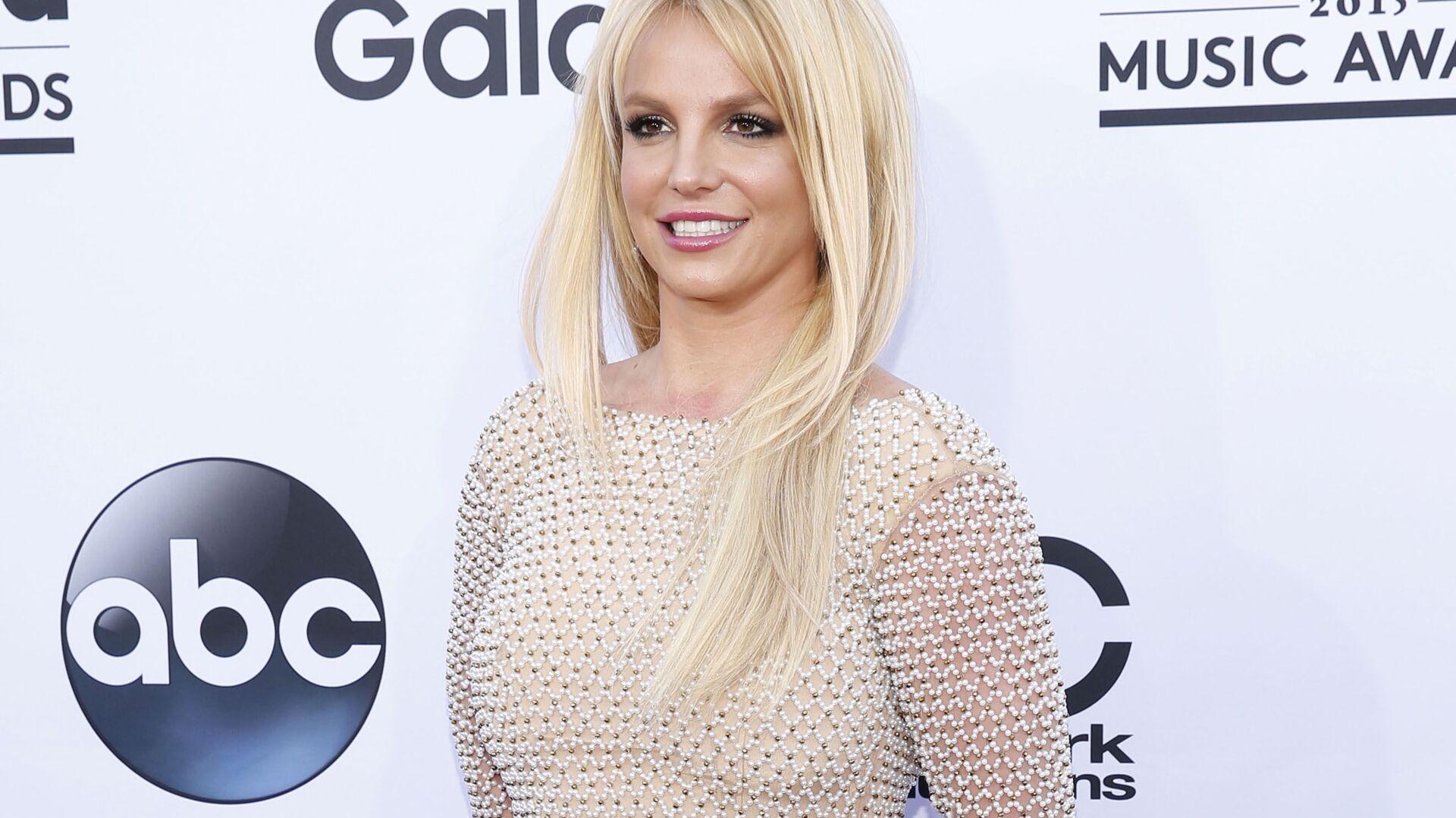 Piosenkarka pop Britney Spears na czerwonym dywanie podczas rozdania nagród Billboard Music Awards w Las Vegas, USA - Sputnik Polska, 1920, 18.07.2021