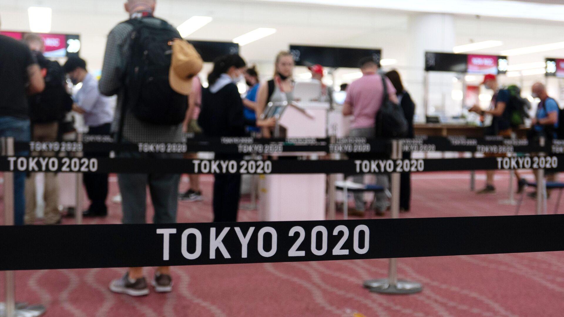 Na lotnisku w Tokio - Sputnik Polska, 1920, 08.08.2021