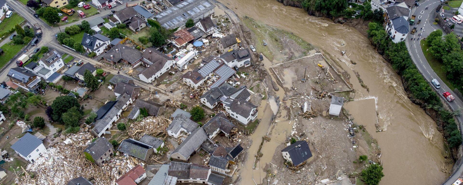 Powodzie w Niemczech - Sputnik Polska, 1920, 18.07.2021
