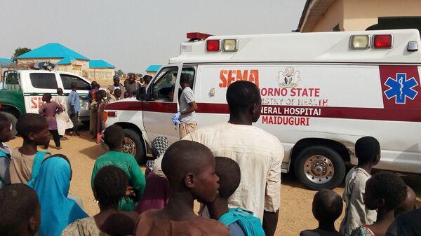 Скорая помощь в Нигерии. Архивное фото  - Sputnik Polska