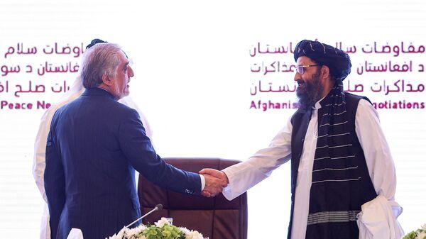 Участники межафганских переговоров в Катаре - Sputnik Polska