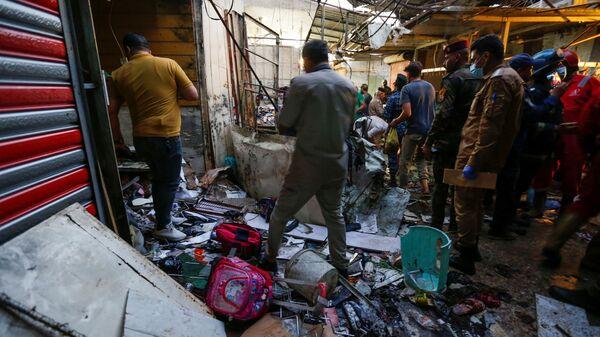 Последствия взрыва в Багдаде - Sputnik Polska