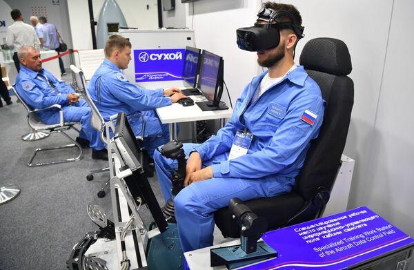 Otwarcie Salonu Lotnictwa i Kosmosu MAKS 2021. - Sputnik Polska