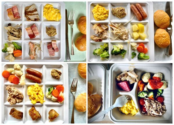 Śniadania w miasteczku olimpijskim w Tokio. - Sputnik Polska