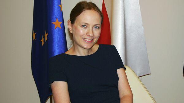 Посол Польши в России Катажина Пелчиньска-Наленч  - Sputnik Polska