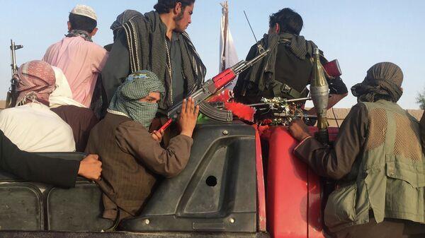 Боевики радикального движения Талибан* в Афганистане - Sputnik Polska