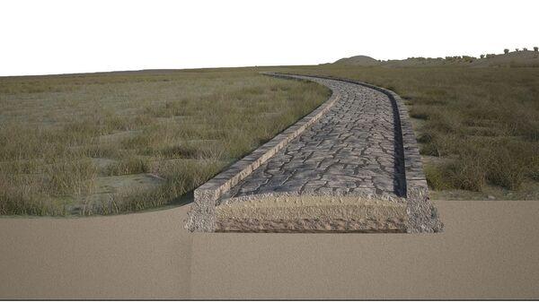 Участок древнеримской дороги, найденный на дне Венецианской лагуны - Sputnik Polska