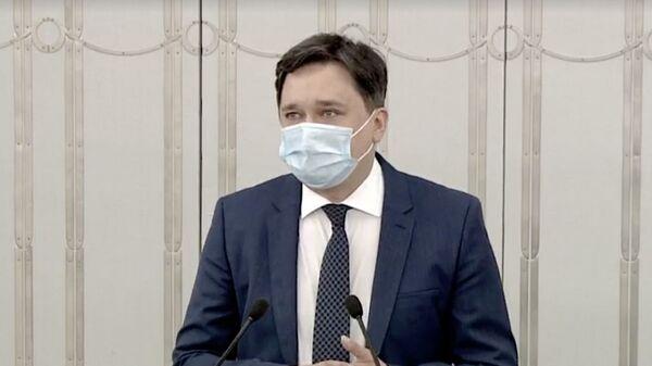 Польский политик Marcin Wiącek - Sputnik Polska