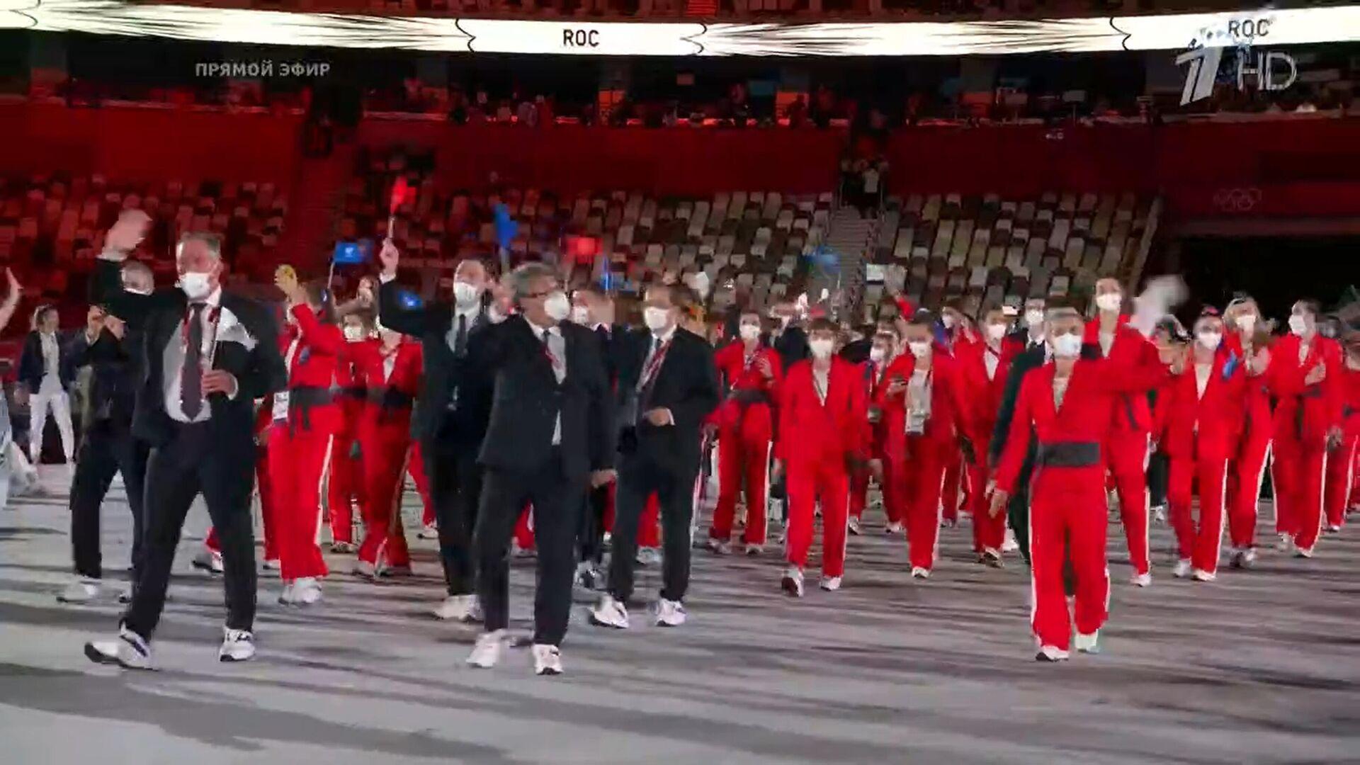 Rosyjska reprezentacja na Igrzyskach Olimpijskich w Tokio - Sputnik Polska, 1920, 24.07.2021