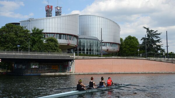 Здание Европейского суда по правам человека - Sputnik Polska