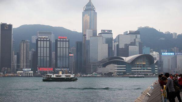 Вид с набережной на Гонконг - Sputnik Polska