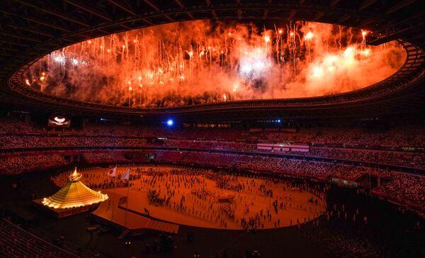 Ceremonia Otwarcia Igrzysk Olimpijskich w Tokio 2020. - Sputnik Polska