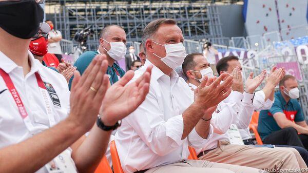 Prezydent Andrzej Duda w Japonii - Sputnik Polska