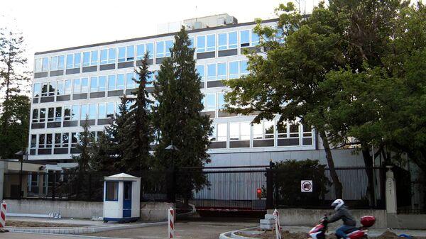 Здание посольства США в Варшаве, Польша - Sputnik Polska