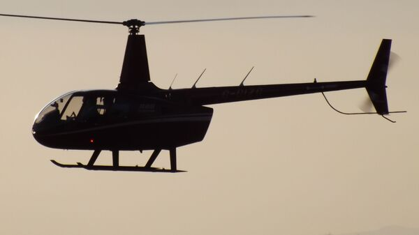 Вертолет модели Robinson R66 - Sputnik Polska