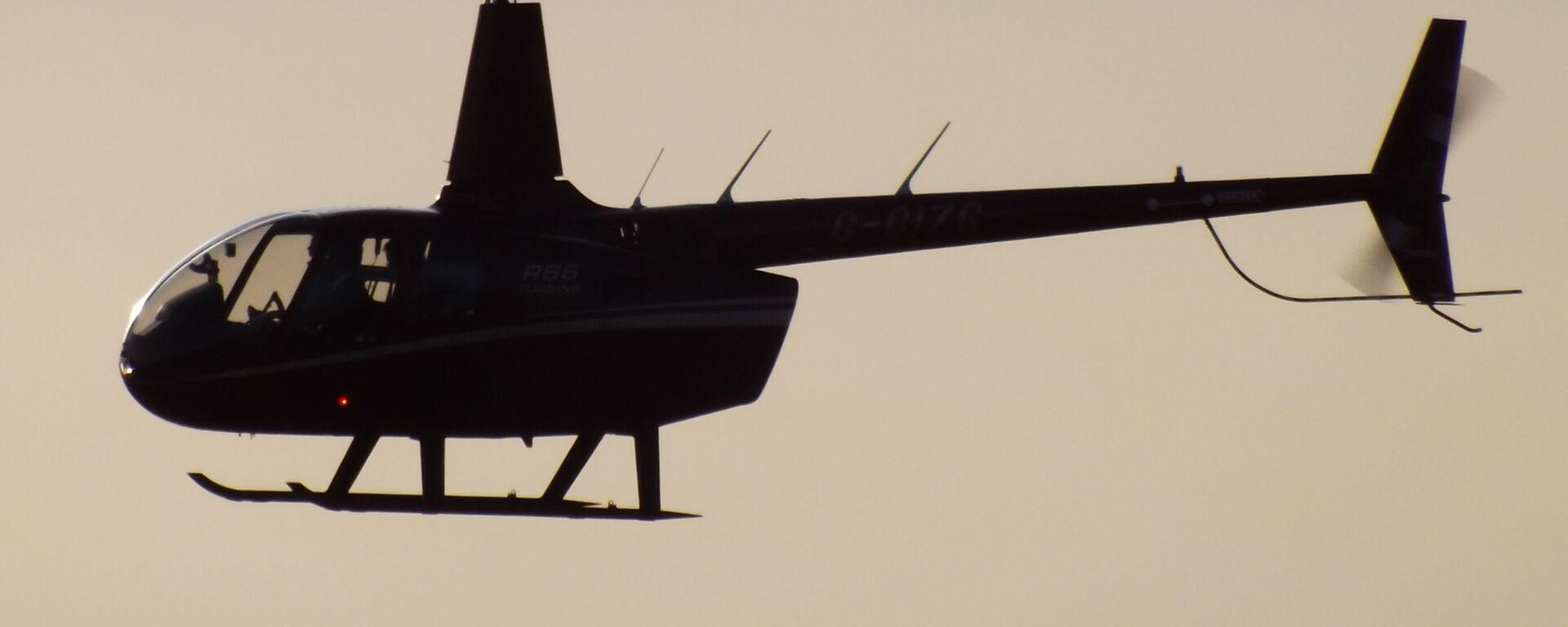 Helikopter model Robinson R66. - Sputnik Polska, 1920, 02.08.2021