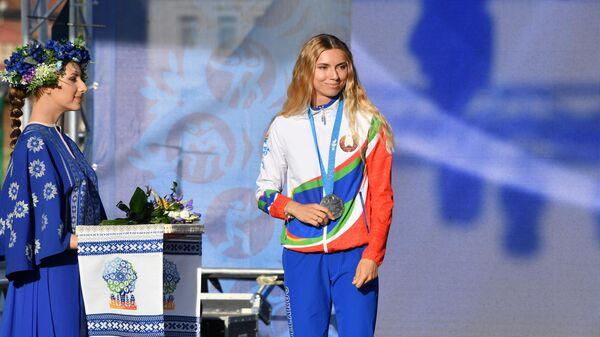 Награждение белорусских легкоатлетов, успешно выступивших на II Европейских играх - Sputnik Polska