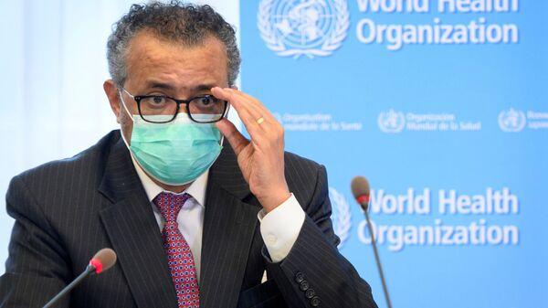 Глава Всемирной организации здравоохранения Тедрос Адханом Гебрейесус - Sputnik Polska