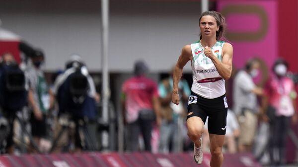 Белорусская легкоатлетка Кристина Тимановская на ОИ в Токио - Sputnik Polska