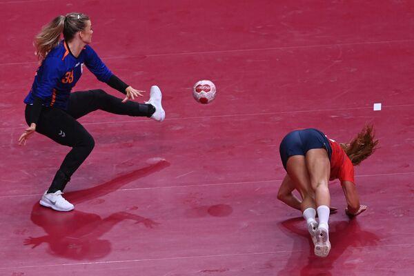 Piłka ręczna, kobiety, mecz Norwegia-Niderlandy.  - Sputnik Polska