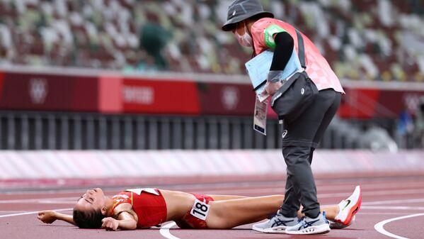 Atletka z Hiszpanii Lucia Rodriguez. - Sputnik Polska