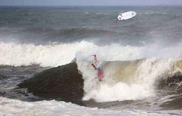Surfing: Gabriel Medina z Brazylii. - Sputnik Polska