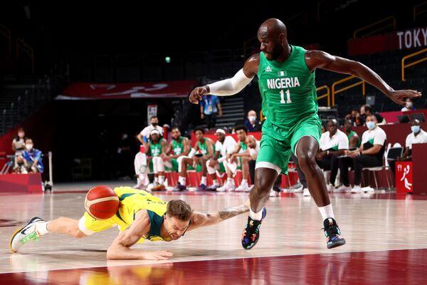 Koszykówka: Mecz Australia-Nigeria.  - Sputnik Polska