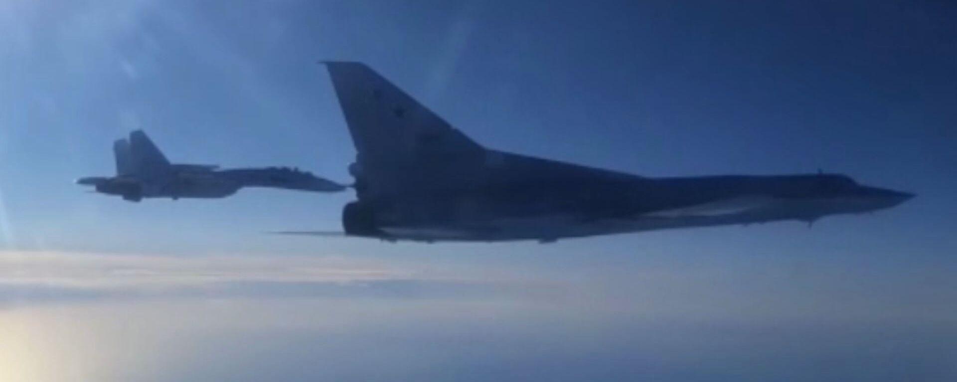 Rosyjskie bombowce Tu-22M3 - Sputnik Polska, 1920, 06.08.2021
