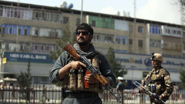 Сотрудники службы безопасности Афганистана в Кабуле - Sputnik Polska