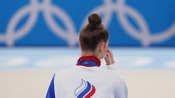 Rosjanka Dina Awierina na Igrzyskach Olimpijskich w Tokio - Sputnik Polska