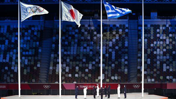 Ceremonia zakończenia XXXII Letnich Igrzysk Olimpijskich w Tokio - Sputnik Polska