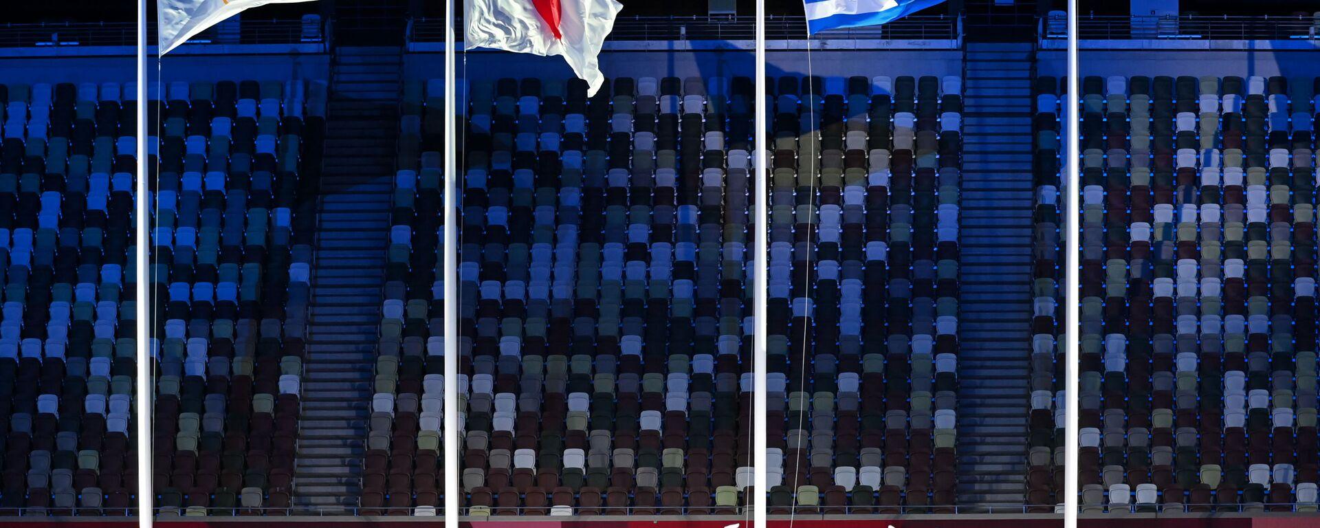 Ceremonia zakończenia XXXII Letnich Igrzysk Olimpijskich w Tokio - Sputnik Polska, 1920, 08.08.2021