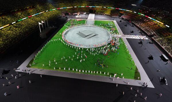 Ceremonia Zamknięcia Igrzysk Olimpijskich w Tokio 2020 – Stadion Olimpijski, Tokio, - Sputnik Polska