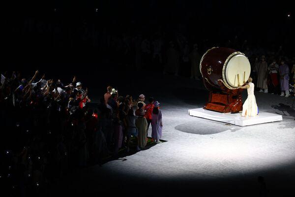 Ceremonia Zamknięcia Igrzysk Olimpijskich w Tokio 2020 - Sputnik Polska