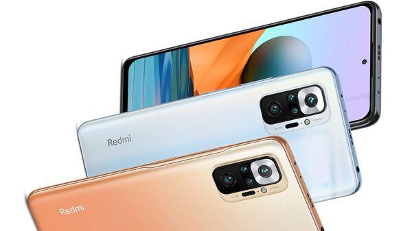 Смартфон Xiaomi Redmi Note 10 Pro - Sputnik Polska