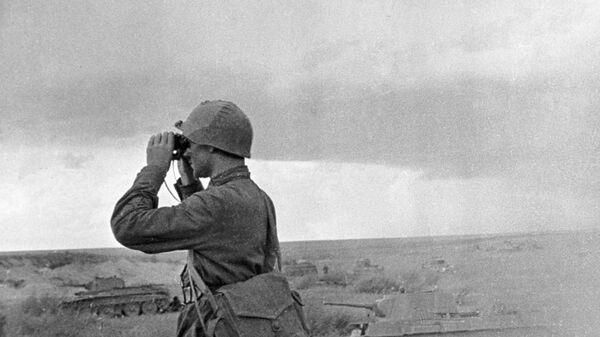 Командир Красной Армии  - Sputnik Polska