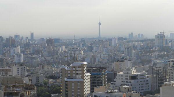 Виды Тегерана, Иран - Sputnik Polska