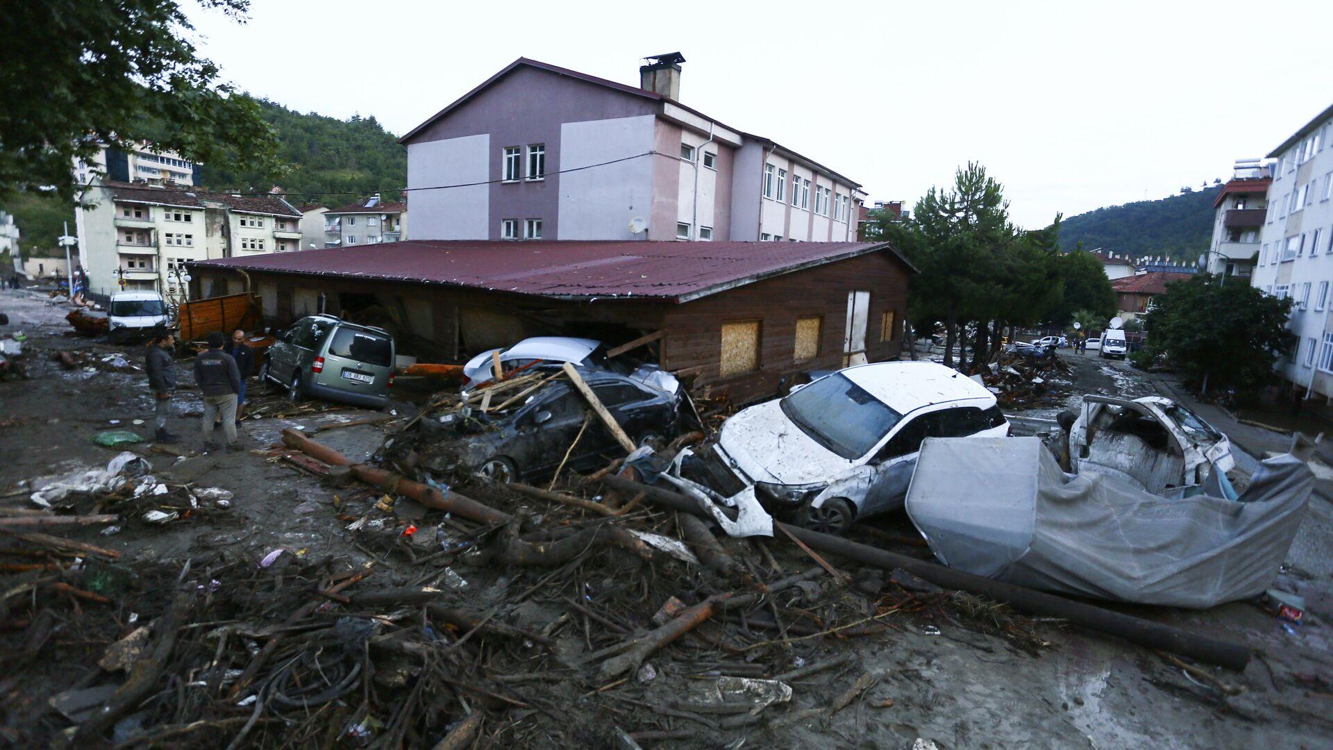 Powódź w Turcji - Sputnik Polska, 1920, 14.08.2021