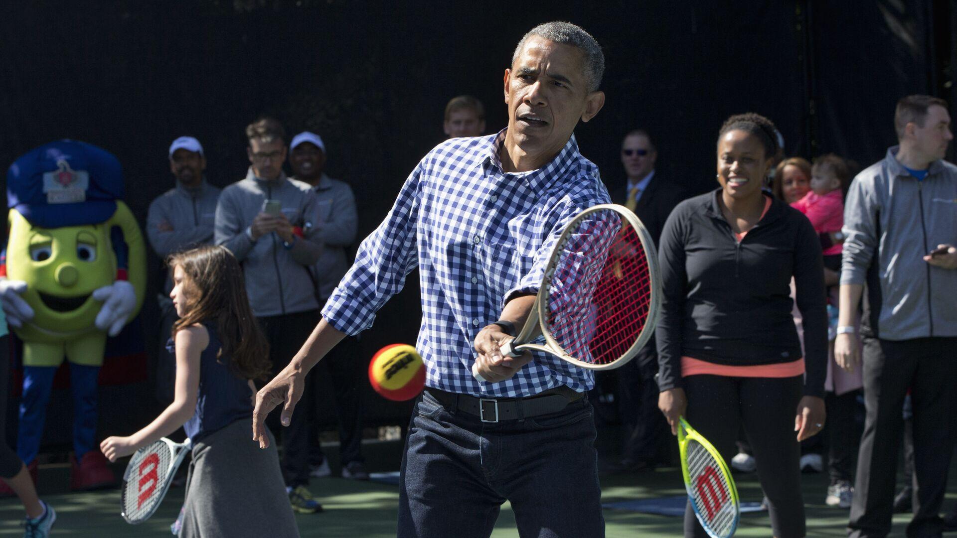 Były prezydent USA Barack Obama - Sputnik Polska, 1920, 14.08.2021