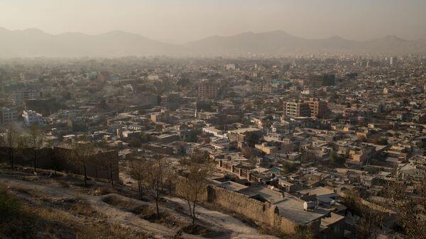 Вид на город Кабул в Афганистане - Sputnik Polska