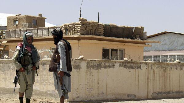 Боевики Талибана* в городе Газни, Афганистан - Sputnik Polska