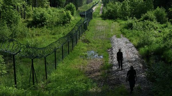 Латвийско-белорусская граница  - Sputnik Polska
