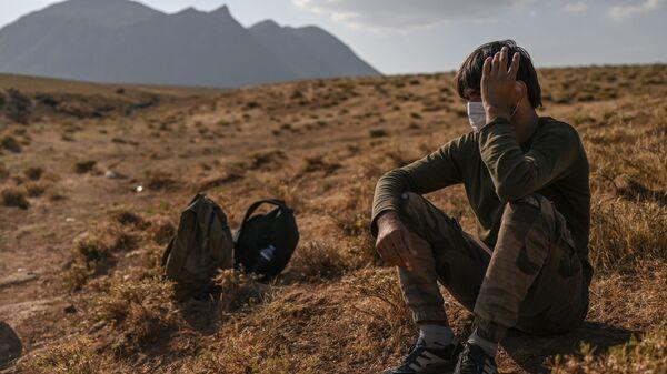 Афганский беженец в Турции - Sputnik Polska
