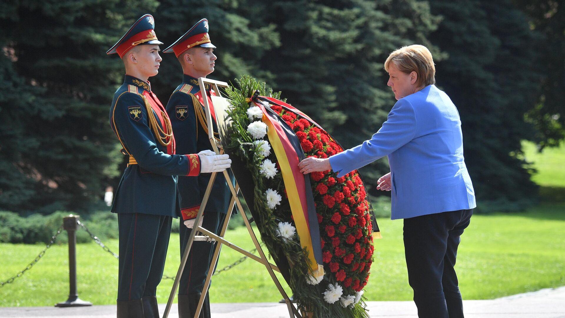 Angela Merkel w Moskwie - Sputnik Polska, 1920, 20.08.2021