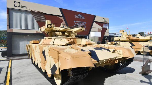 """Wóz bojowy BMPT-72 """"Terminator-2"""" - Sputnik Polska"""