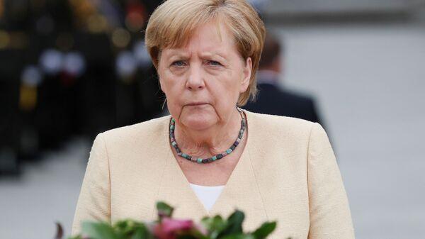 Канцлер Германии Ангела Меркель в Киеве  - Sputnik Polska