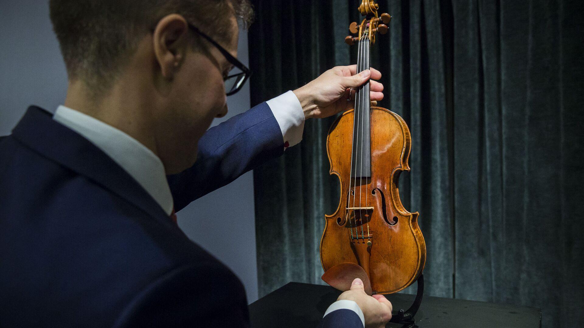 Skrzypce Stradivariego - Sputnik Polska, 1920, 24.08.2021