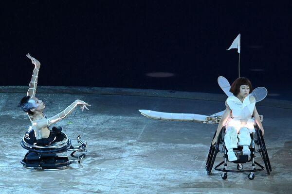 Artyści na ceremonii otwarcia XVI letnich igrzysk paraolimpijskich - Sputnik Polska